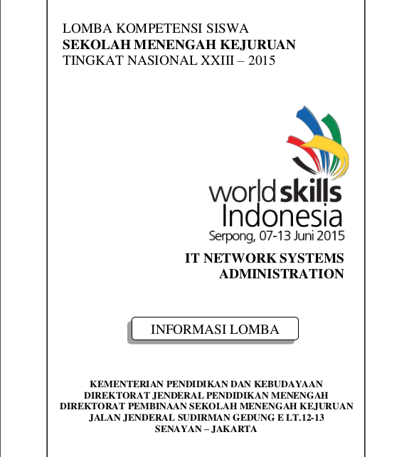 LKS 2015 IT Network System Administration